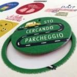 Palle ILLUSTRI - Tavola illustrata da Mauro Gatti con 6 dischi decorativi stampati su cartone riciclato
