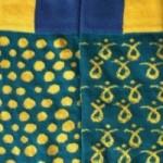 """Chaussette unisexe courte - """"Polka decor"""", en coton peigné de haute qualité"""