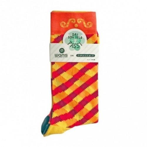 """Chaussette unisexe courte - """"Sunny Picnic"""", en coton peigné de haute qualité"""