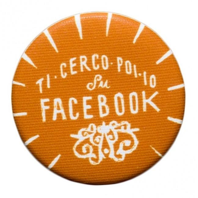 """La Pin de LePalle: pin """"Ti cerco poi io su Facebook"""""""
