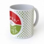 """Mug """"Lunedì inizio la dieta"""", tazza in ceramica"""