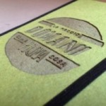 """Taccuino """"Lo faccio domani come prima cosa"""" copertina rigida VERDE in cartone naturale, formato SMALL tascabile 11x15 cm"""