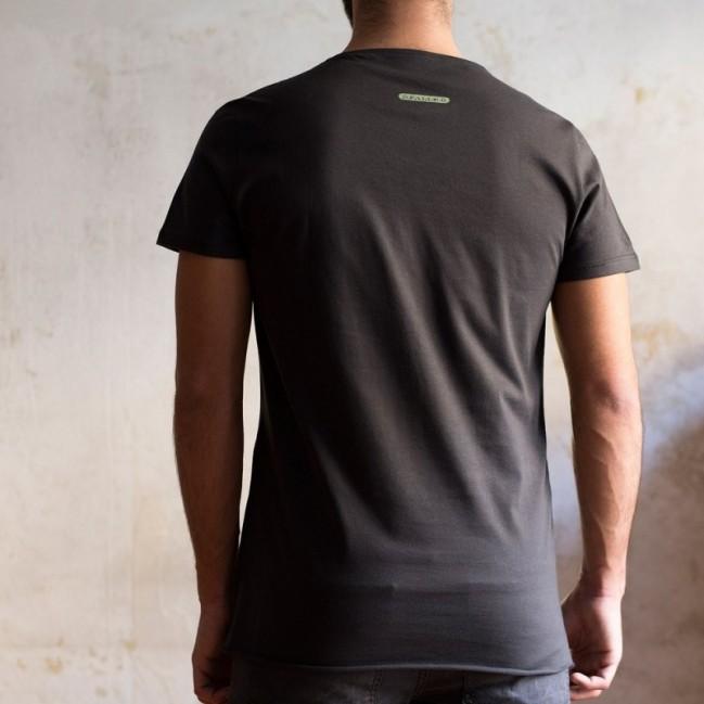 """T-shirt uomo """"domani ti faccio il bonifico"""" 100% cotone color bianco"""