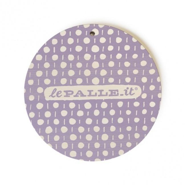 """Monopalla """"lo faccio domani come prima cosa"""", disco decorativo in legno stampato a colori"""