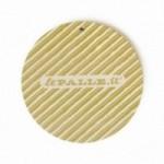 """MonoPipeau """"prossima settimana organizziamo"""" disque décoratif en bois imprimé en couleurs"""