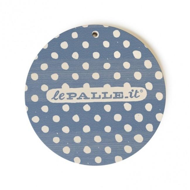 """Monopalla """"non sei tu, sono io"""", disco decorativo in legno stampato a colori"""
