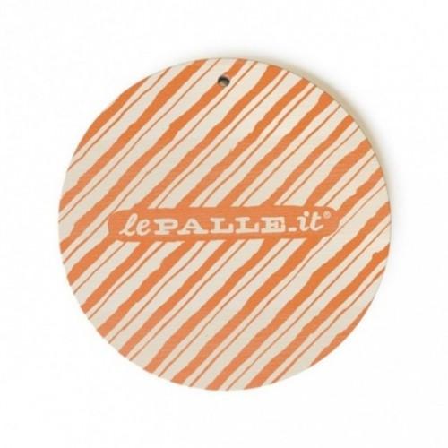 """Monopalla """"I was tied up in a meeting"""", disco decorativo in legno stampato a colori"""