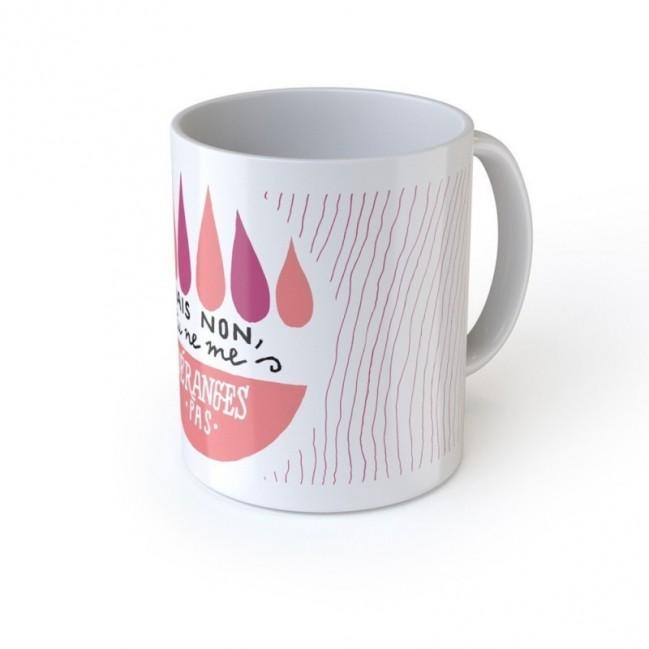 """Mug """"Mais non, tu ne me déranges pas"""", tazza in ceramica"""