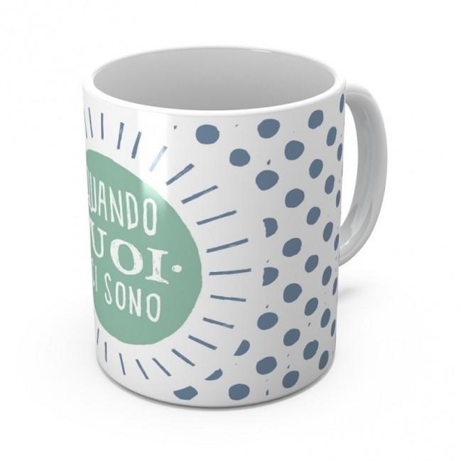 """Mug """"Quando vuoi ci sono"""", tazza in ceramica"""