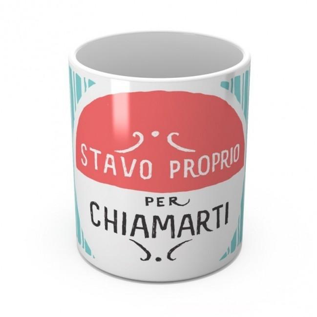 """Mug """"Stavo proprio per chiamarti"""", tazza in ceramica"""