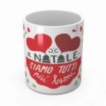 """Mug """"A Natale siamo tutti più buoni"""", tasse en céramique"""