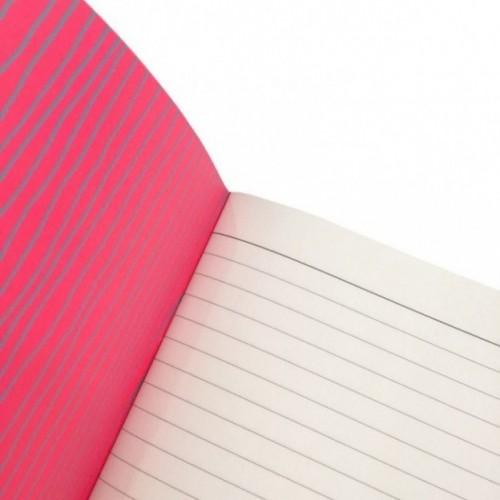 """Cahier A5 """"Non dimentico mai niente"""", 48 pages ivoire, lignes uniquement à droite"""