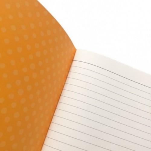 """Quaderno A5 """"Ma come scrivi bene!"""", 48 pagg avorio, righe solo su lato destro"""
