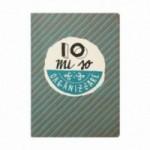 """Cahier A5 """"Io mi so organizzare"""", 48 pages ivoire, lignes uniquement à droite"""