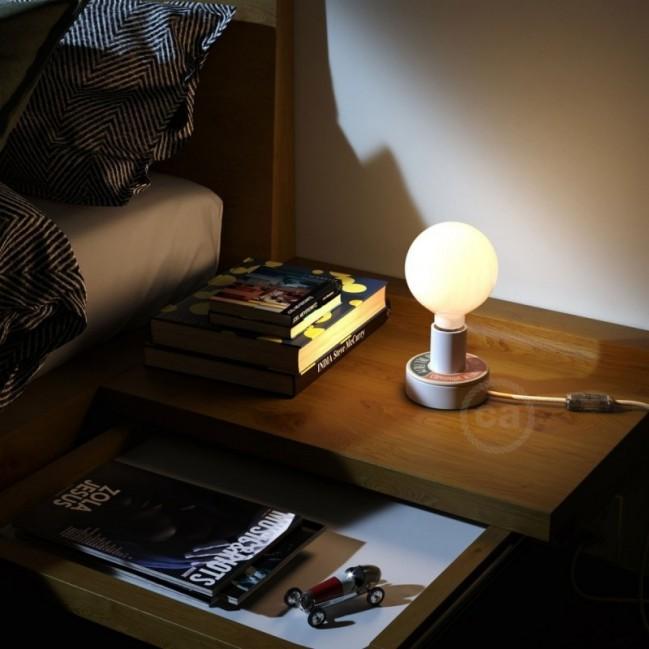 MINI-UFO en bois double-face collection READING BALLSH*T, mod. GUERRA E PACE + MEGLIO DEL FILM